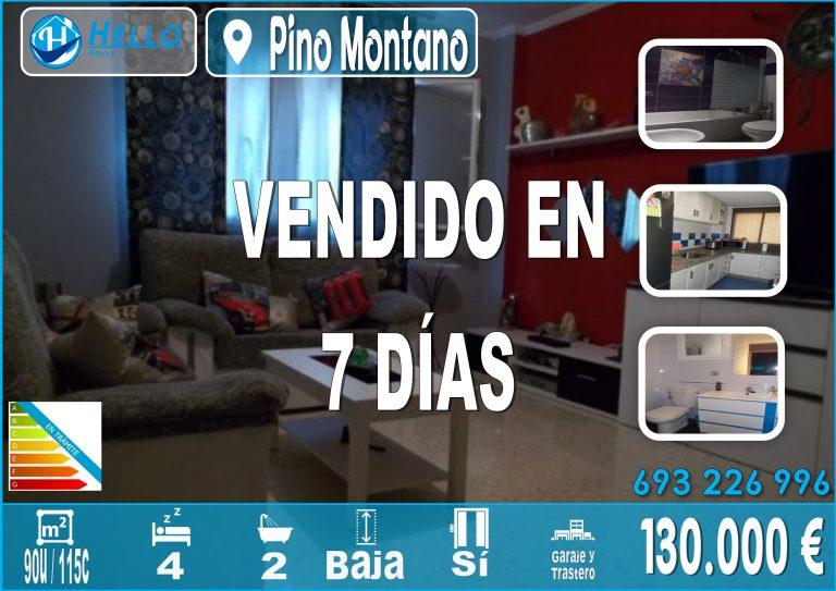 Cartel Oficina Pino Montano Altair 1