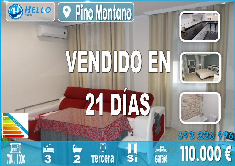 Cartel Oficina Pino Montano Altair 2