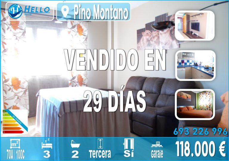 Cartel Oficina Pino Montano Altair