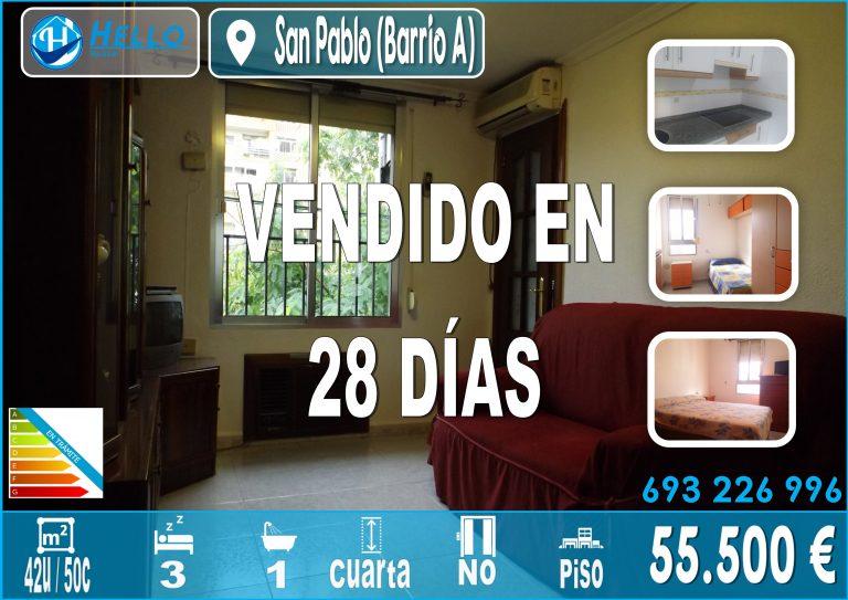 Cartel Oficina San Pablo (Barrio A)