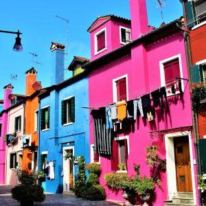 casas coloreadas